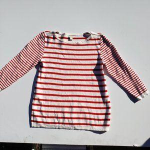 J Crew Sweater Red  Crew neck Small